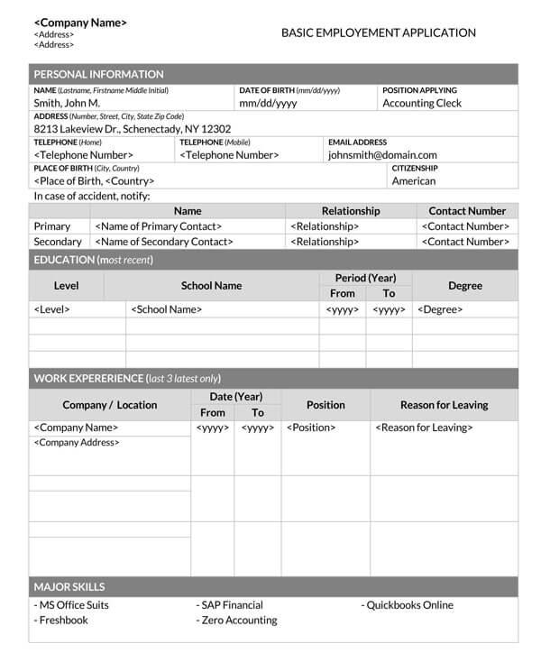Basic-Employment-Application-Template-01