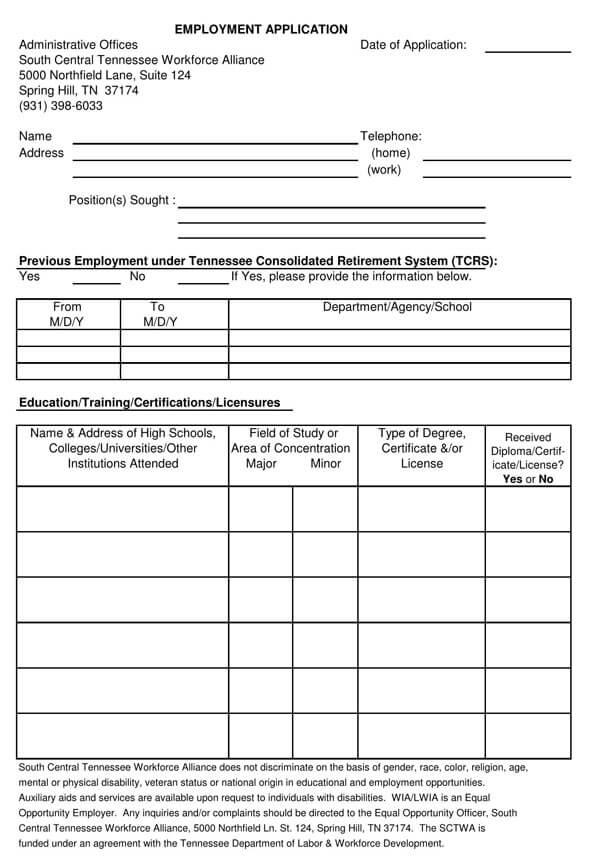 Employment-Application-Form