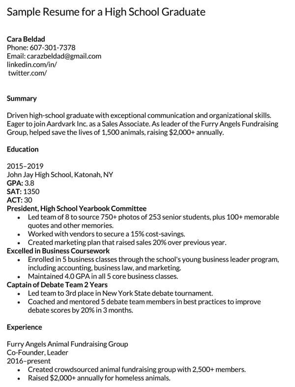 High-School-Graduate-Sample