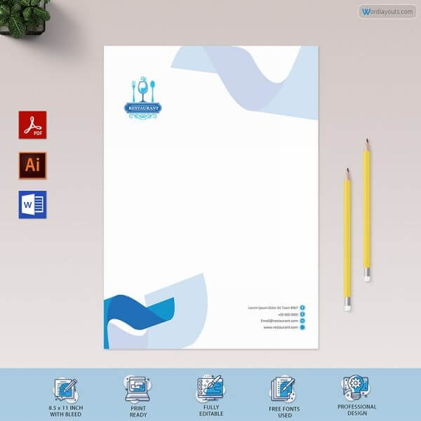 Letterhead for Catering Services