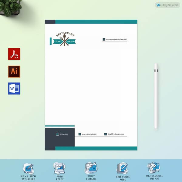 Catering Proposal Letterhead