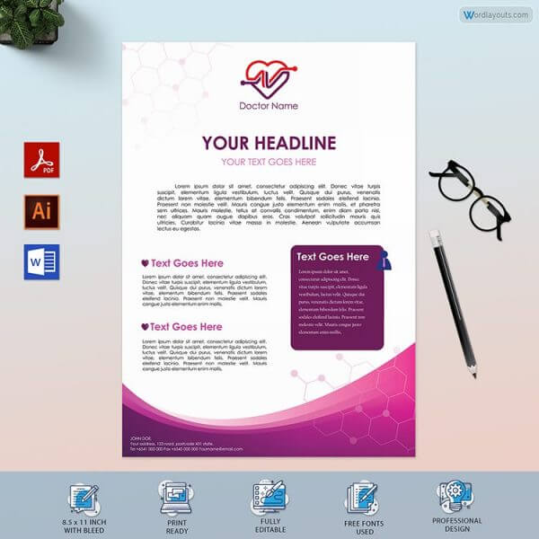 Doctor Letterhead Design