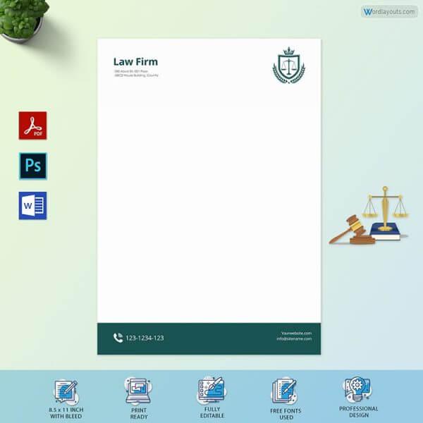 Classic Law Firm Letterhead