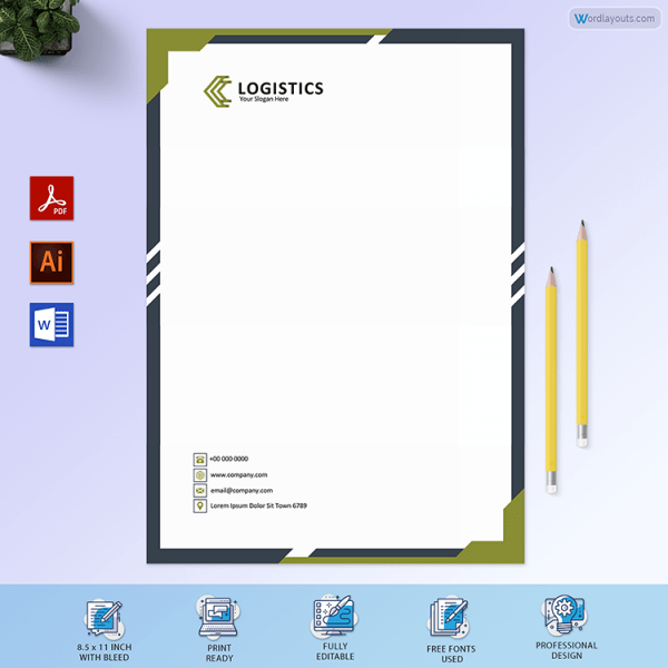 Free Letterhead Format For Transport Company