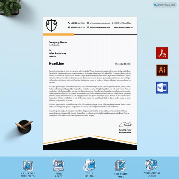 Legal Letterhead Sample