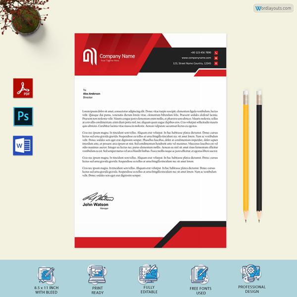 Business Letterhead Example