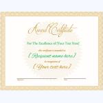 Award Certificate 01 BRW