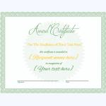 Award Certificate 01 GRN