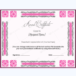 free printable teacher appreciation certificates