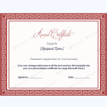Award-Certificate-11-RED