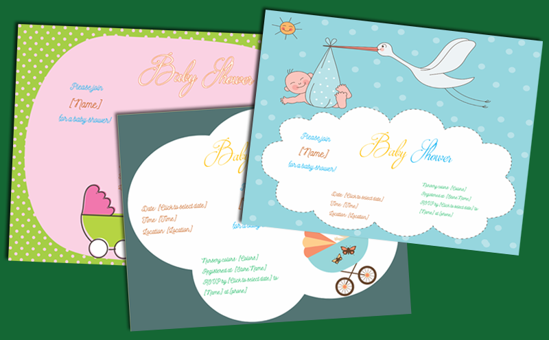 Baby Shower Invitation Template Featured Image