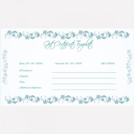 Gift Card Format