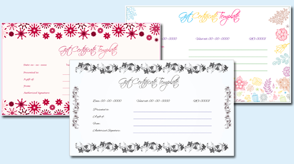 Gift Certificate (Featured Image)