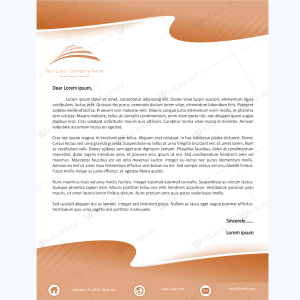 professional letterhead templates free download