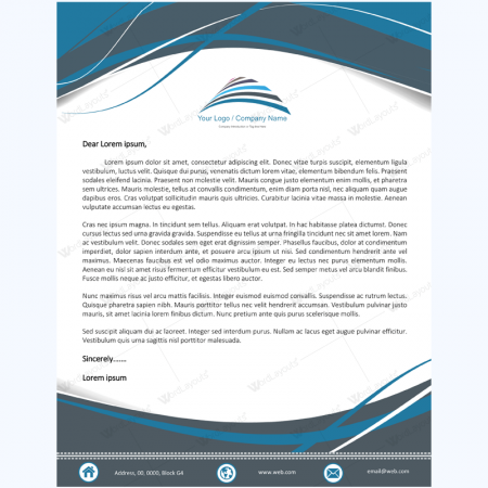 Letterhead Templates 500 plus Graphic Design Letterheads – Letterhead Template