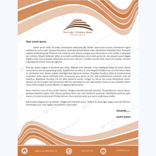 microsoft letterhead templates
