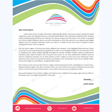 official letterhead template