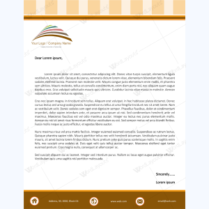 Letterhead templates graphic design letterheads for microsoft word letterhead template 07 spiritdancerdesigns Image collections