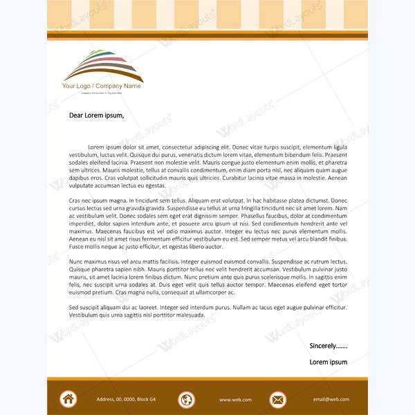 letterhead template 07 5 00 add to cart category letterheads facebook