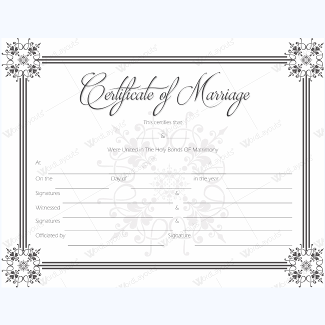 Marriage Certificate 03 BLK