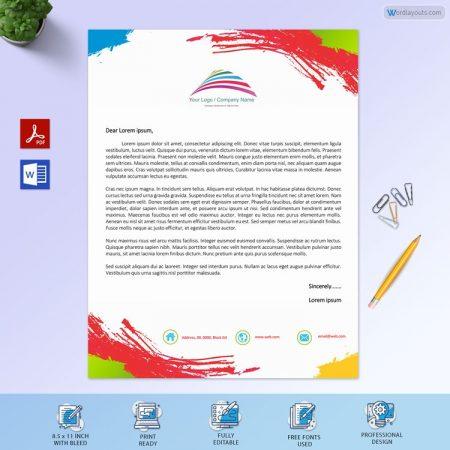 Free Personal Letterhead Sample