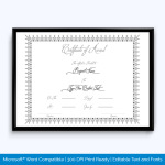 Award-Certificate-020-BLK