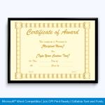 Award-Certificate-024-GLD