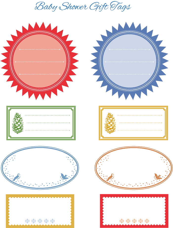 5+ Gift Tag Templates to Create a Personalized Gift Tag