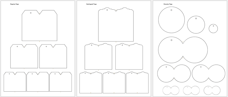 martha stewart gift tag template - free gift tag templates make your own gift tags tags and