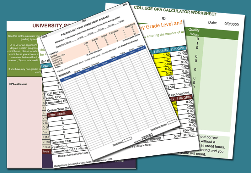 Plus GPA Calculators for Excel® to Keep track your GPA