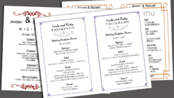 an analysis of wedding menu Plan your saratoga springs wedding menu with the help of longfellows hotel,  restaurant and conference center known for our experienced catering and.
