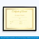 Award-Certificate-026-GLD