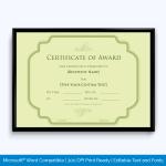 Award-Certificate-031-GRN