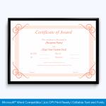 Award-Certificate-032-PNK