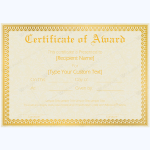 Award-Certificate-28-GLD