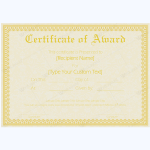 Award-Certificate-28-YLW