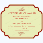 Award-Certificate-31-RED