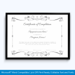 Free-Customizable-Certificate-of-Completion