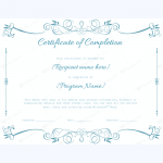 Free-Certificate-of-Completion-Templates