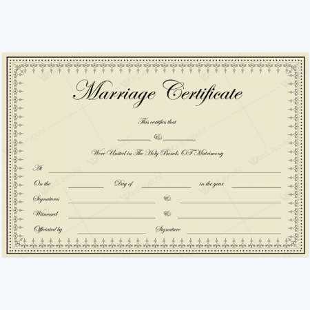 Marriage Certificate Template Word Pictures to Pin – Certificate Template Ms Word