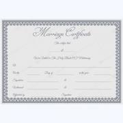 marriage certificate template psd