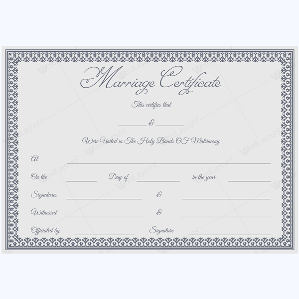 Certificate Templates Word Layouts 6933121 Vdyufo