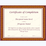Printable-Certificate-of-Completion-Template