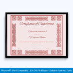 Certificate-of-Completion-Word