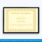 microsoft-word-templates-for-certificates-of-training