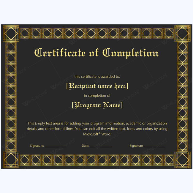 thank you certificate template microsoft best free