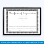 appreciation-certificate-content