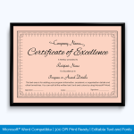 certificate-of-excellence-writing
