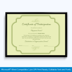 certificate-of-participation-wording
