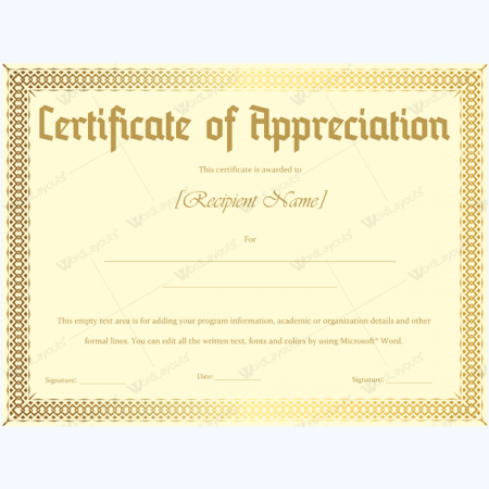 Doc600600 Appreciation Certificates Wording How to Write a – Certificate of Excellence Wording